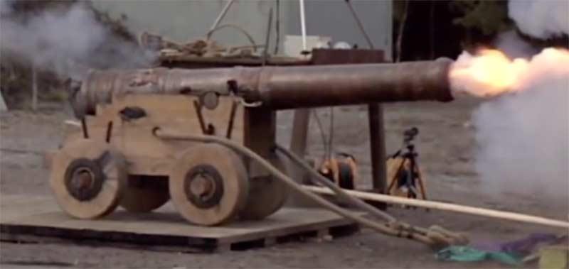 Apparence des fûts de canon Bronze5