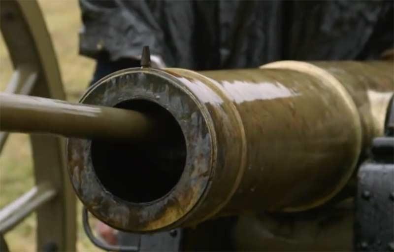Apparence des fûts de canon Bronze9