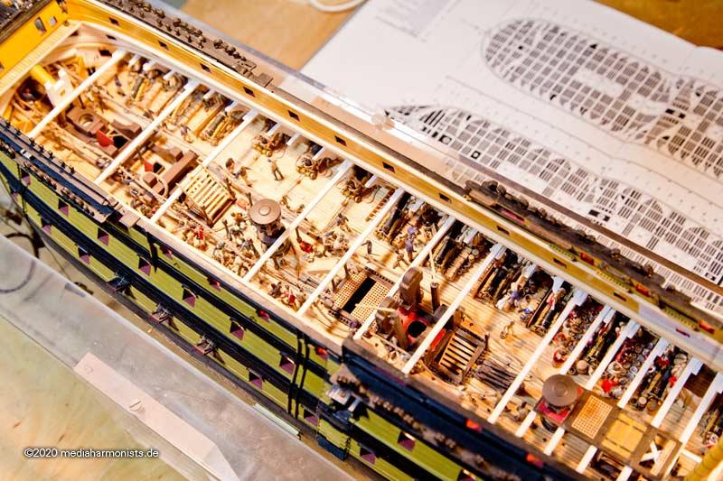 Le plastique c'est fantastique (HMS Victory) - Page 10 Victory_beams_210130_6677